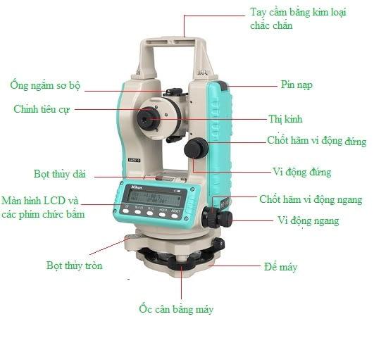 Cách đo cao độ bằng máy toàn đạc