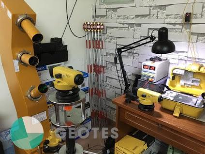 Quy trình sửa chữa máy thủy bình