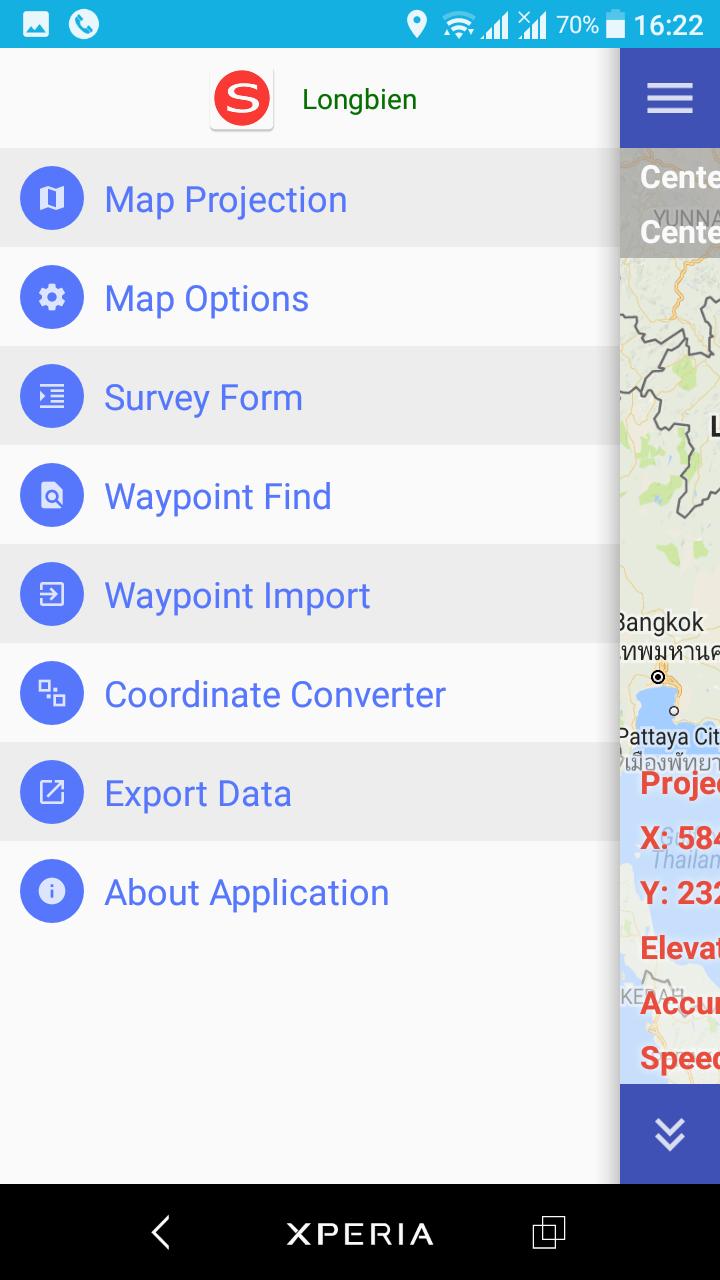 Hướng dẫn nhập số liệu vào phần mềm GPS trên điện thoại GeoSurvey